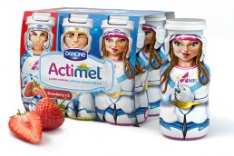 Actimel website design