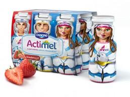 Actimel website design